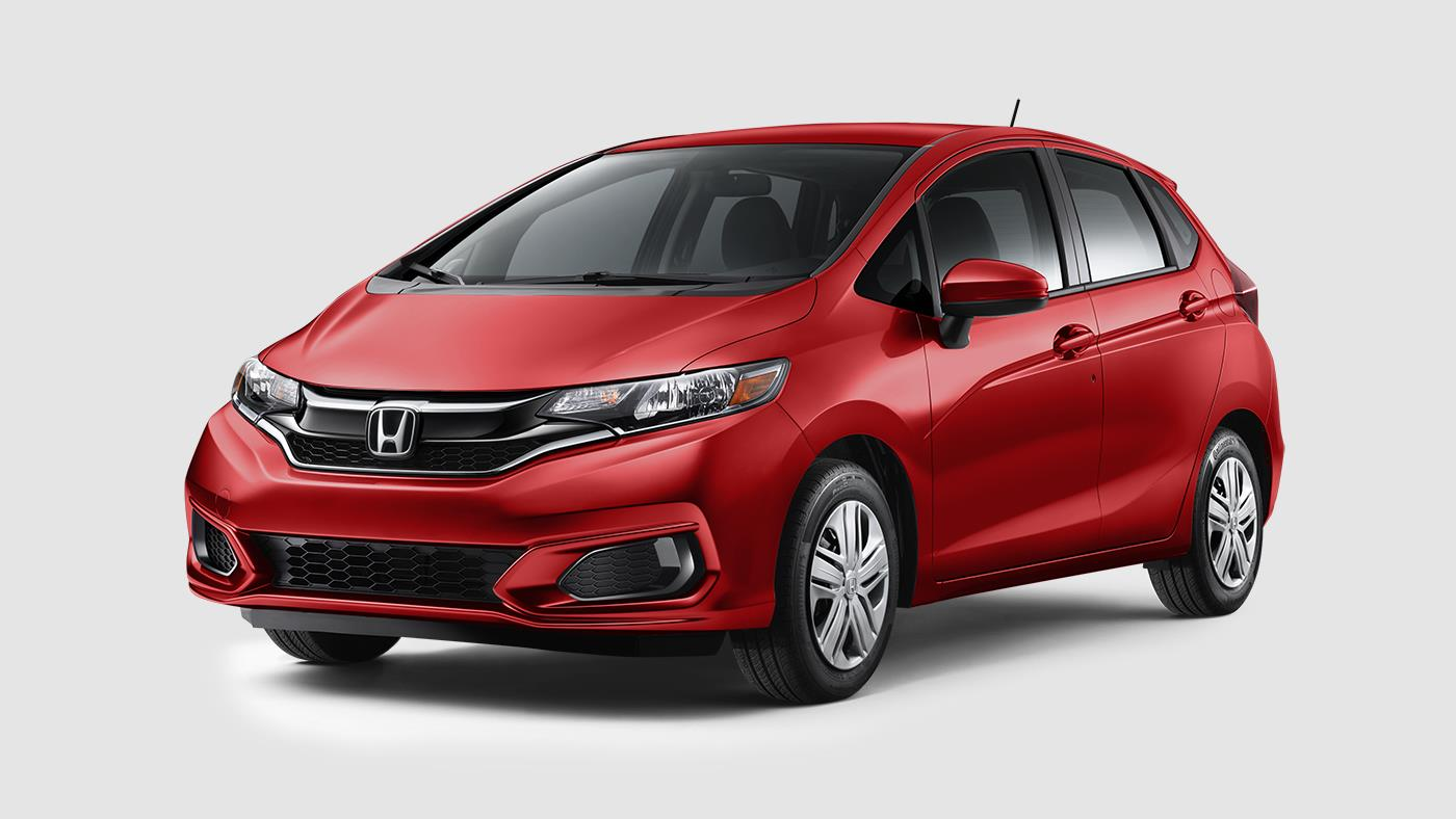 2018 Honda Fit Milano Red