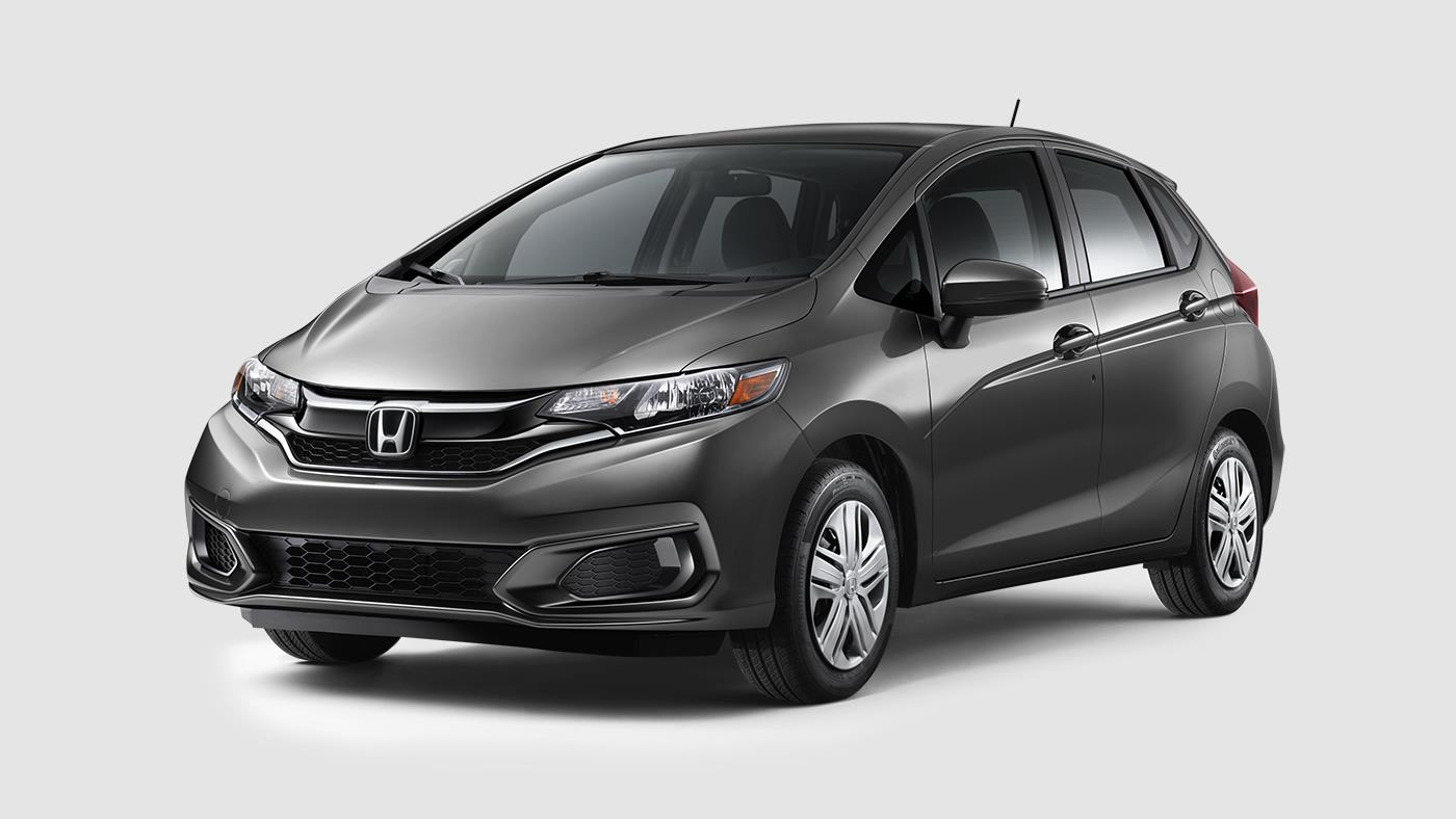 2018 Honda Fit Modern Steel Metallic