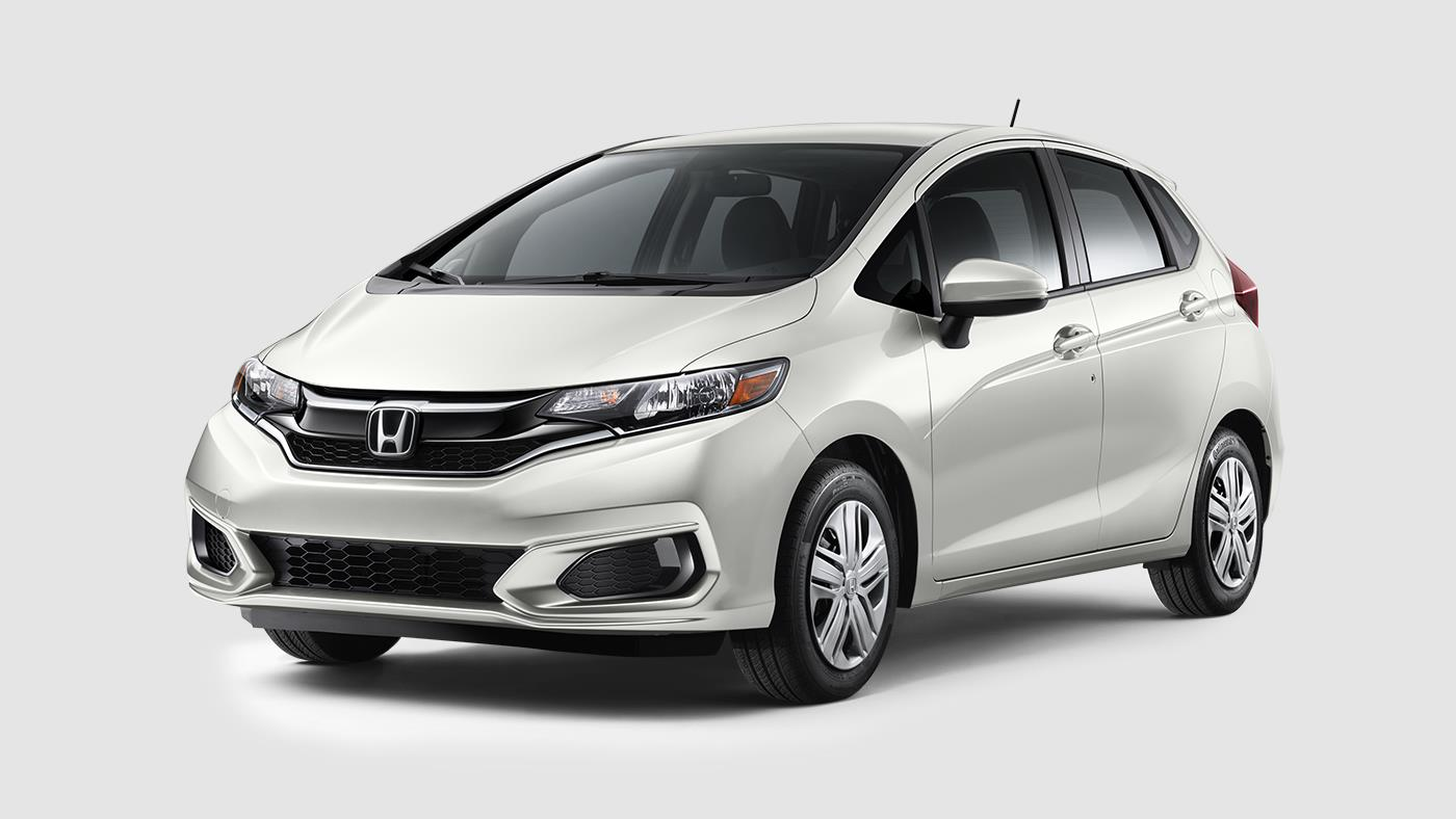 2018 Honda Fit White Orchid Pearl