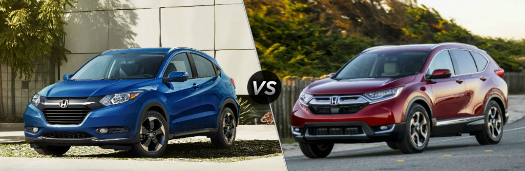 2018 Honda HR-V vs 2018 Honda CR-V