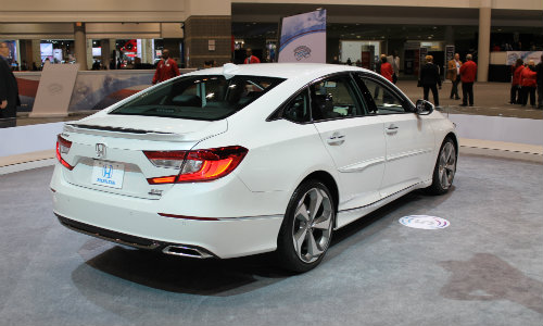 2019 Honda Accord Chicago Auto Show back bumper