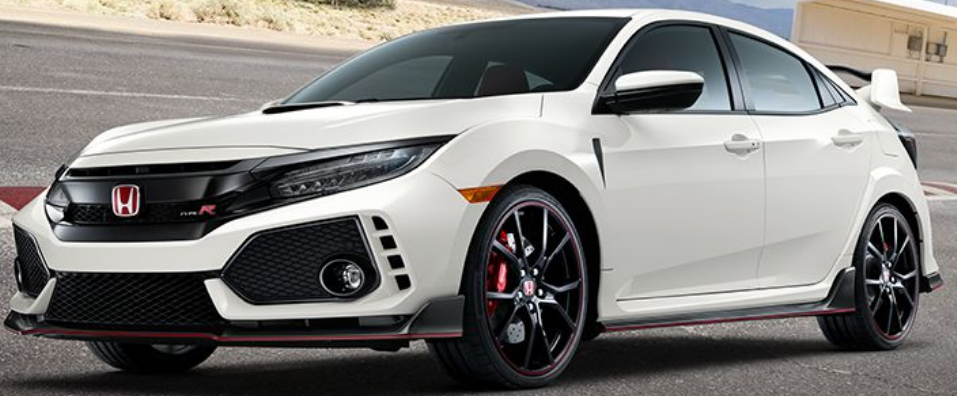 2018 Honda Civic Type R Paint Color Options