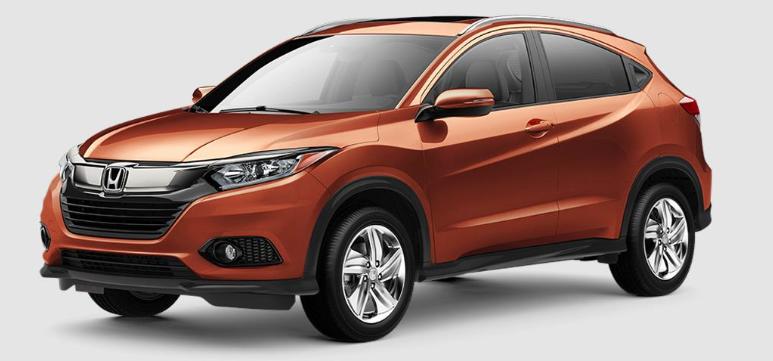 2019 Honda HR-V Orangeburst Metallic
