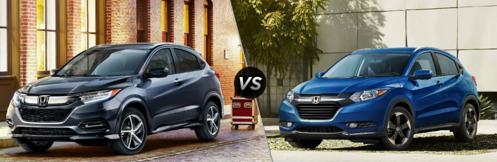 Camry Vs Accord >> 2019 Honda HR-V vs 2018 Honda HR-V