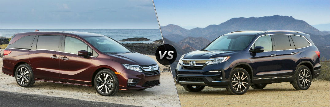 Is the Honda Minivan or SUV the Better Family Vehicle?