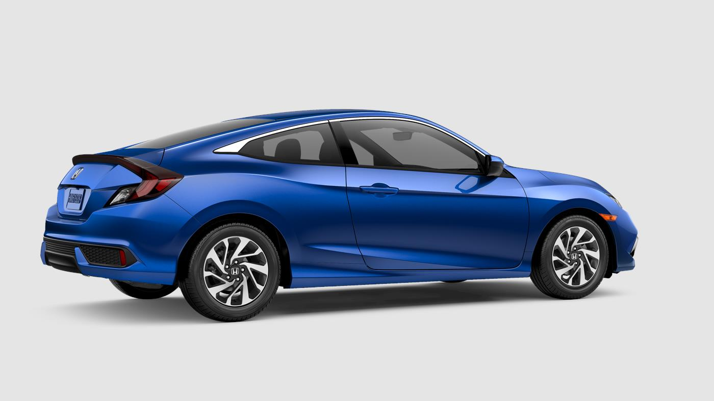 2019 Honda Civic Coupe Aegean Blue Metallic