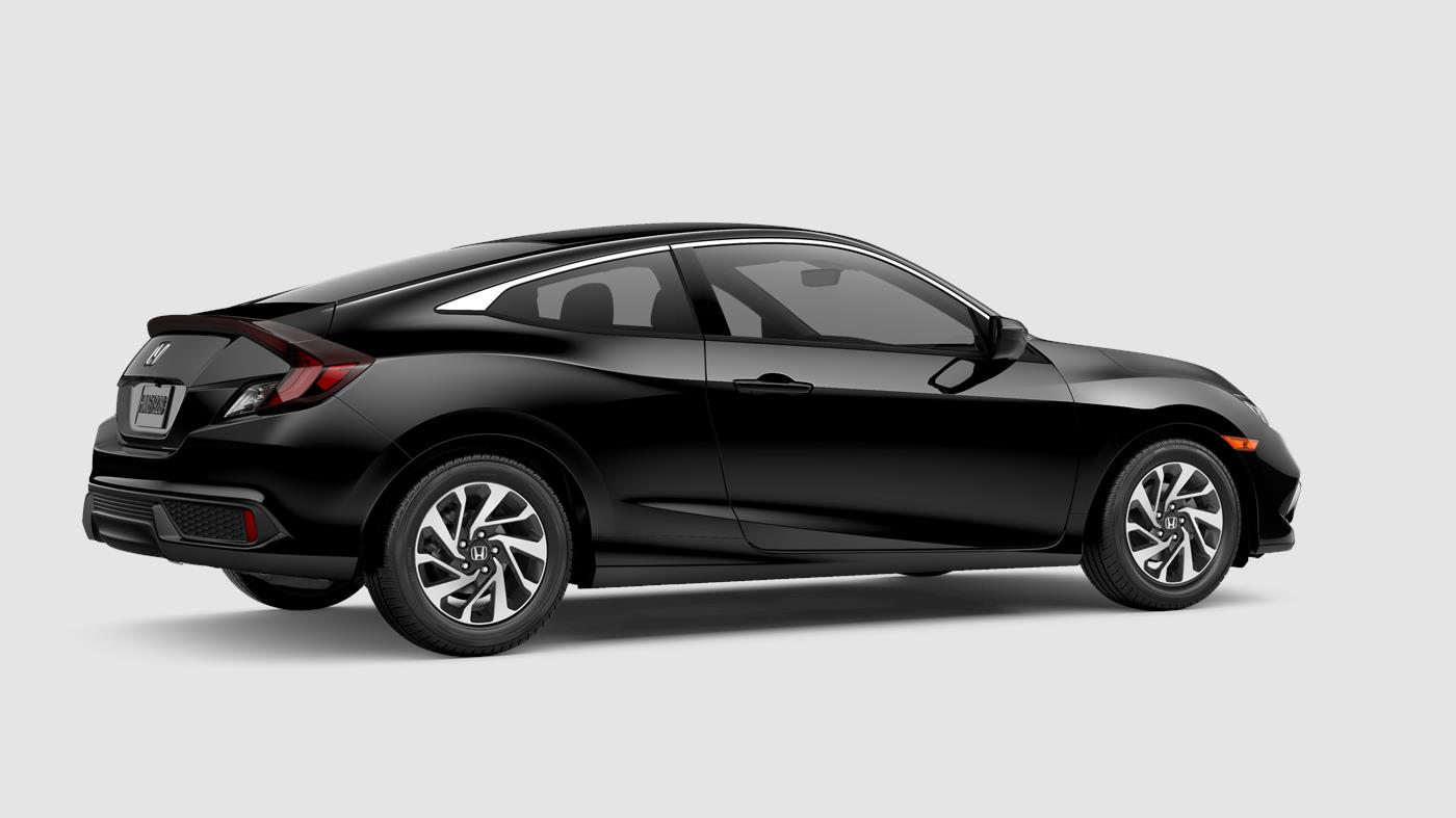 2019 Honda Civic Coupe Crystal Black Pearl
