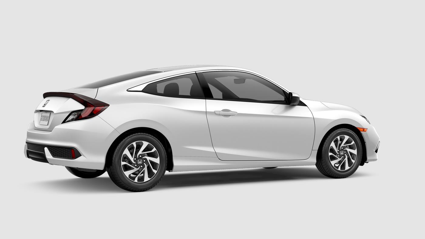 2019 Honda Civic Coupe Platinum White Pearl