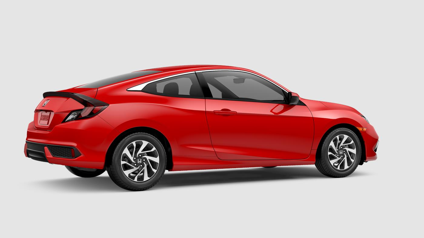 2019 Honda Civic Coupe Rallye Red