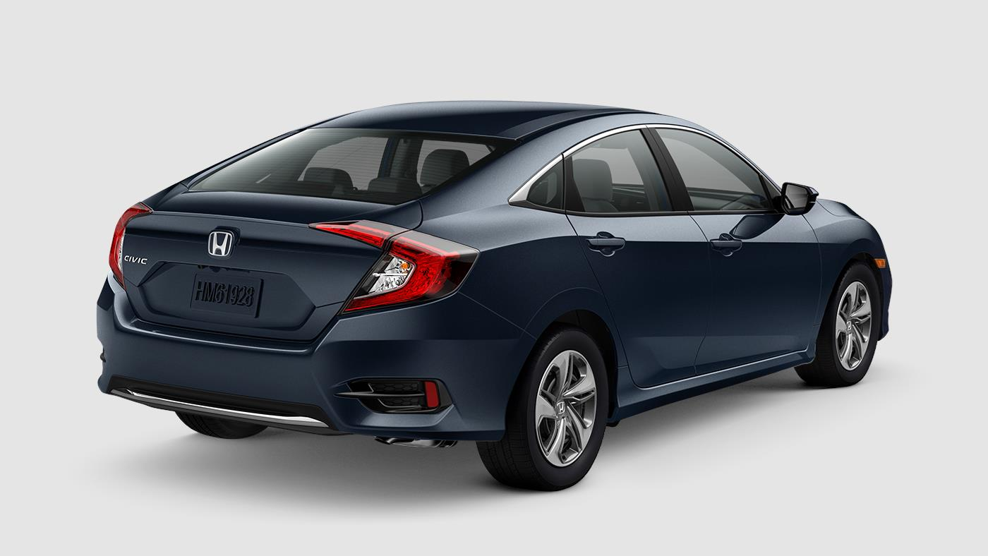 2019 Honda Civic Sedan Cosmic Blue Metallic