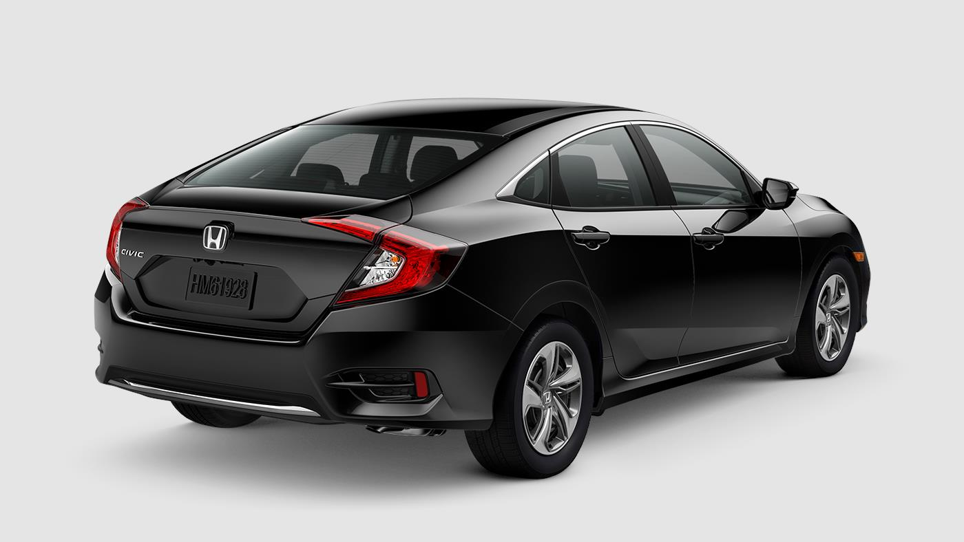 2019 Honda Civic Sedan Crystal Black Pearl