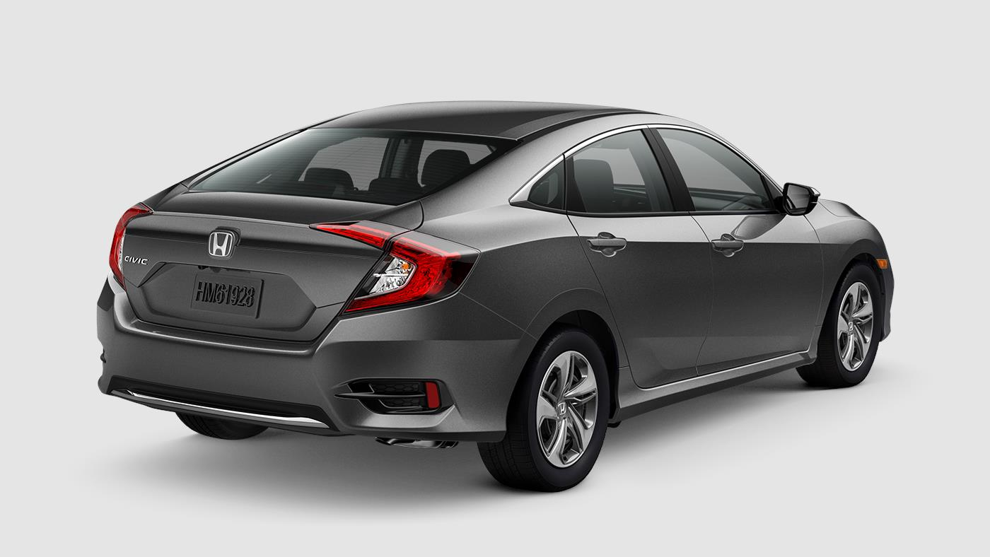 2019 Honda Civic Sedan Modern Steel Metallic