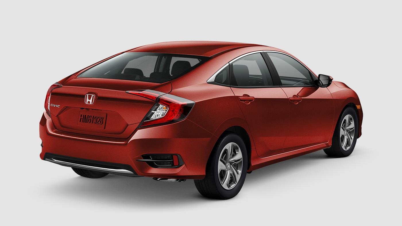 2019 Honda Civic Sedan Molten Lava Pearl