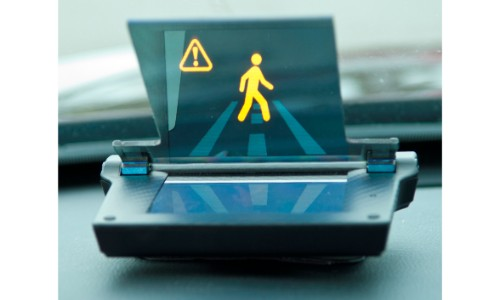 Honda Smart Intersection Heads Up Display Pedestrian Monitoring