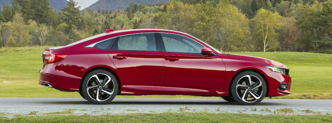 What are the Color Options for the 2019 Honda Accord?
