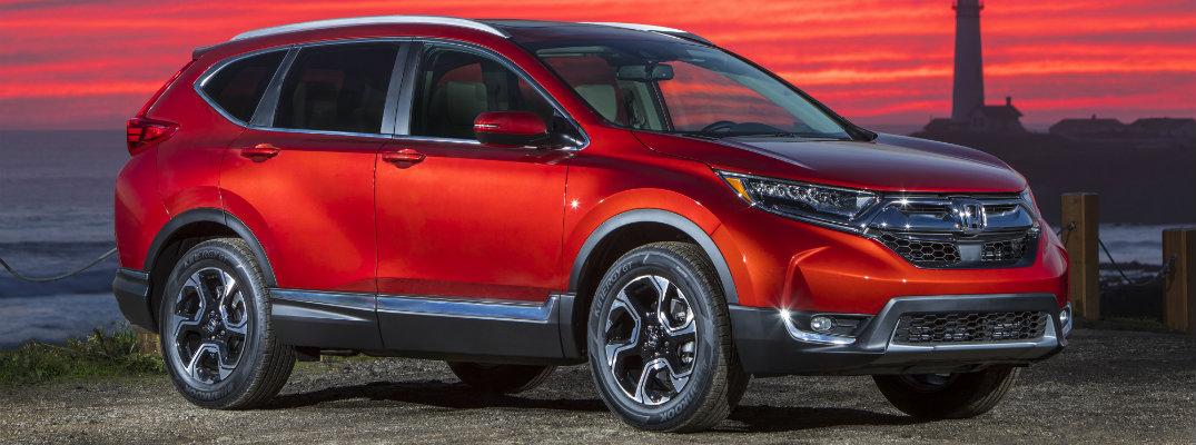 What are the Color Options for the 2019 Honda CR-V?