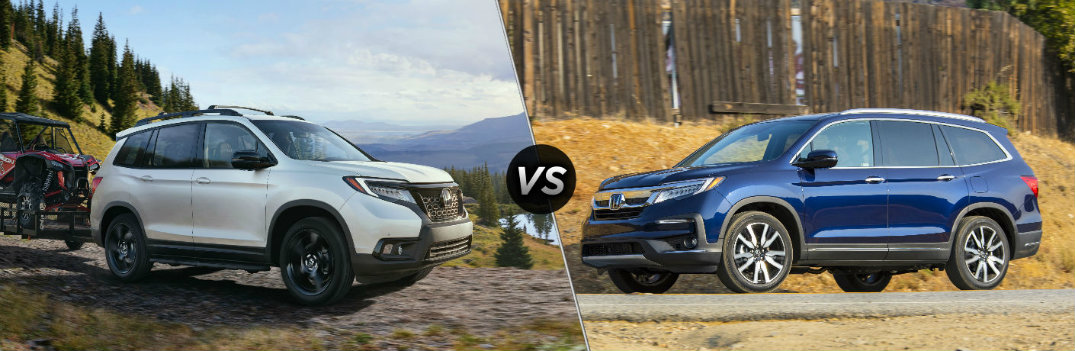 What are the Differences Between the 2019 Honda Passport and Pilot?