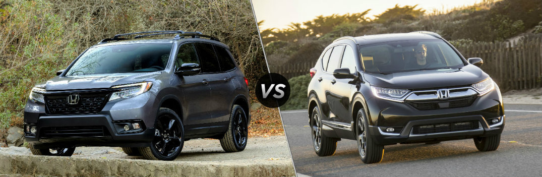2019 Honda Passport vs 2019 Honda CR-V