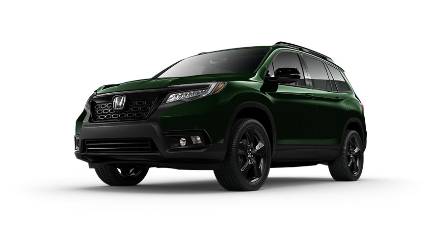 Honda Passport Black Forest Pearl O