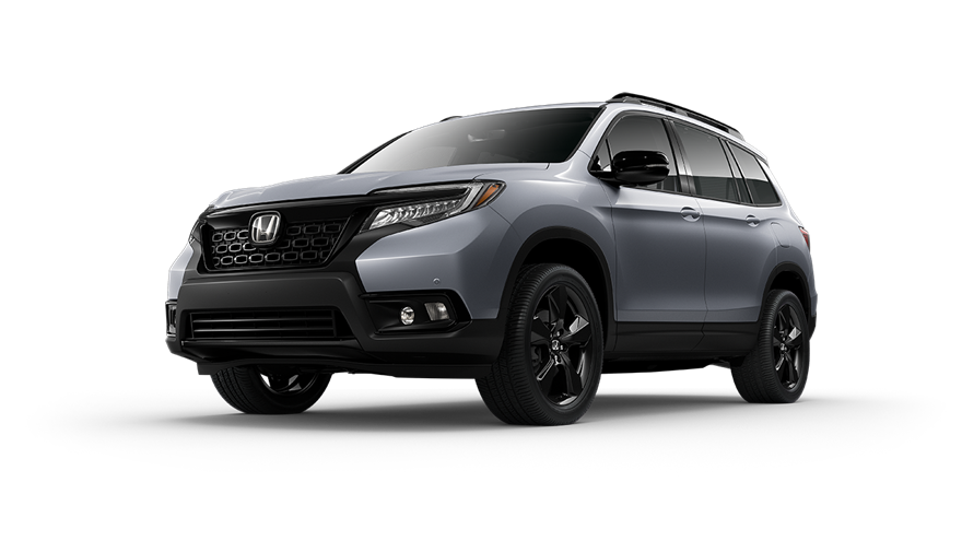 2019 Honda Passport Lunar Silver Metallic
