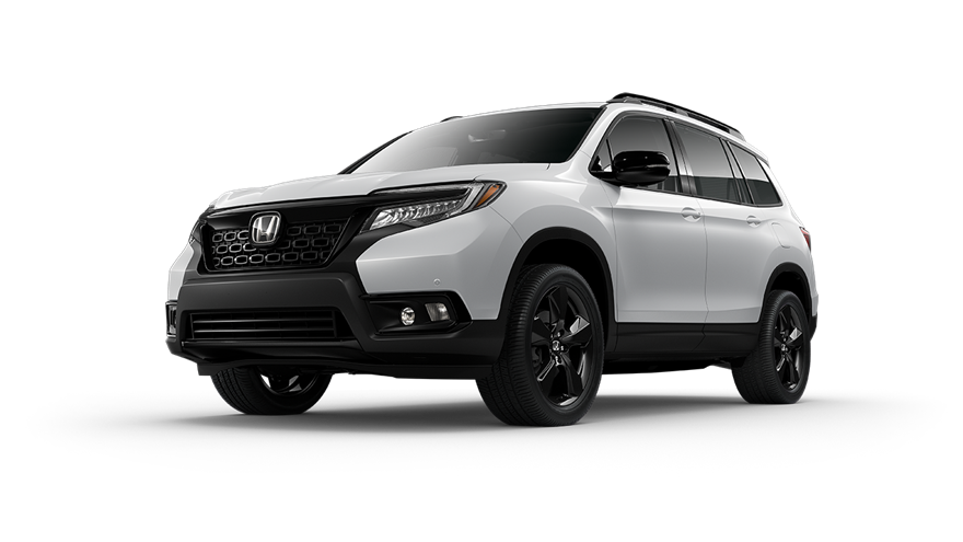 2019 Honda Passport White Diamond Pearl