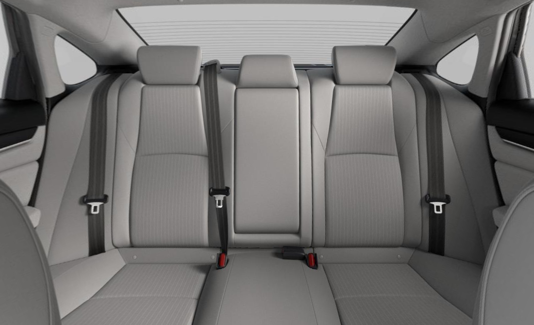 2019 Honda Accord EX Gray Cloth Upholstery