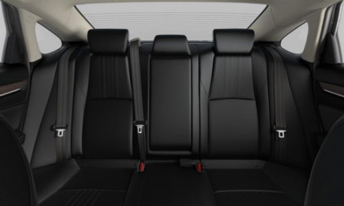 2019 Honda Accord EX-L Black Leather Upholstery
