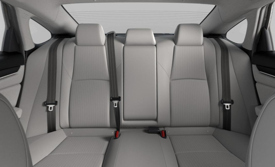 2019 Honda Accord LX Gray Cloth Upholstery