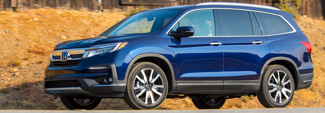 How much space is inside the Honda Pilot?