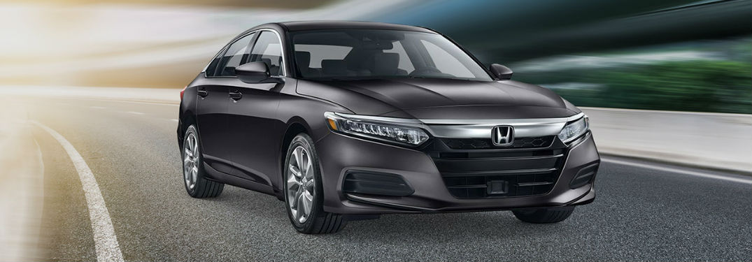 2019 Honda Accord in gray