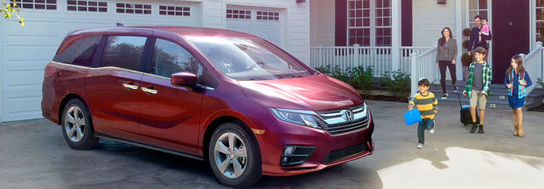 How much room does the 2020 Honda Odyssey have?