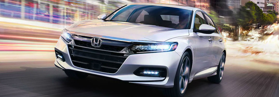 2020 Honda Accord Touring in gray