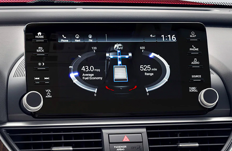 2020 Honda Accord touchsreen display