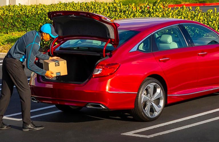 2020 Honda Accord cargo area