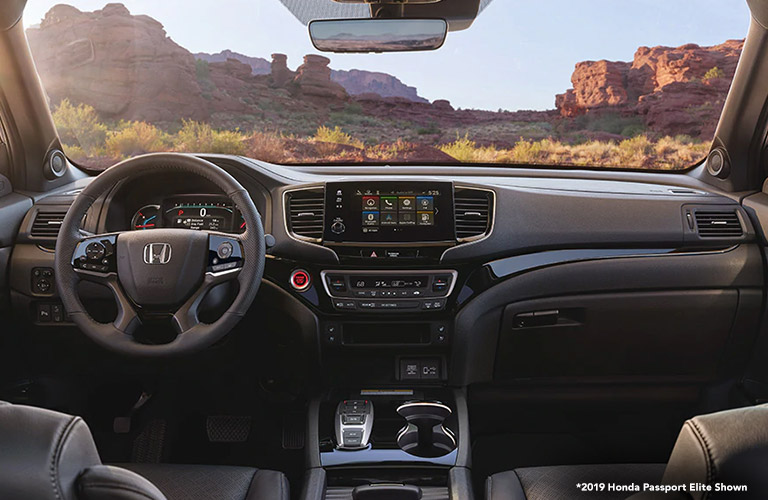 2019 Honda Passport Elite dashboard