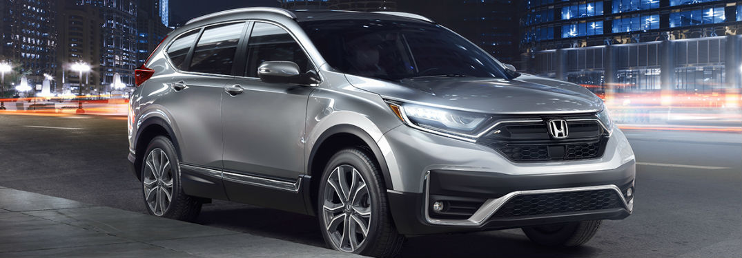2020 Honda CR-V Touring in gray