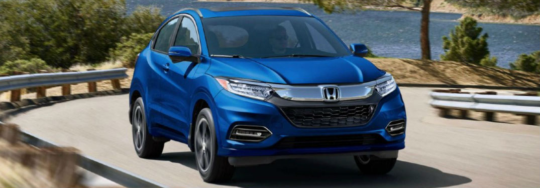 2020 Honda HR-V in blue