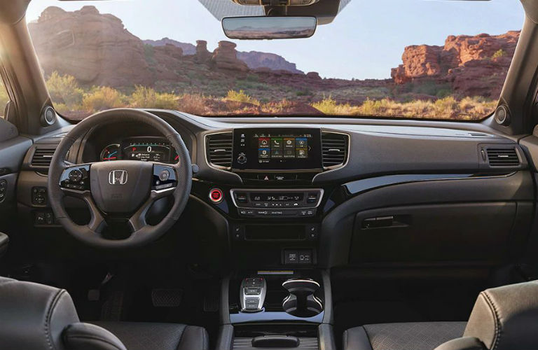 2020 Honda Passport Elite dashboard