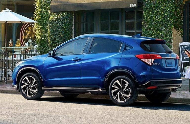2020 Honda HR-V side in blue