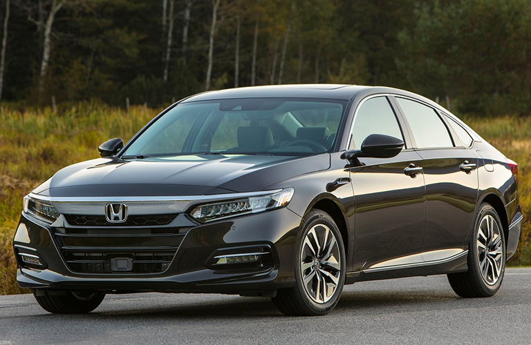 2020 Honda Accord Hybrid in gray