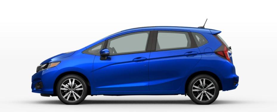 2020 Honda Fit Aegean Blue Metallic
