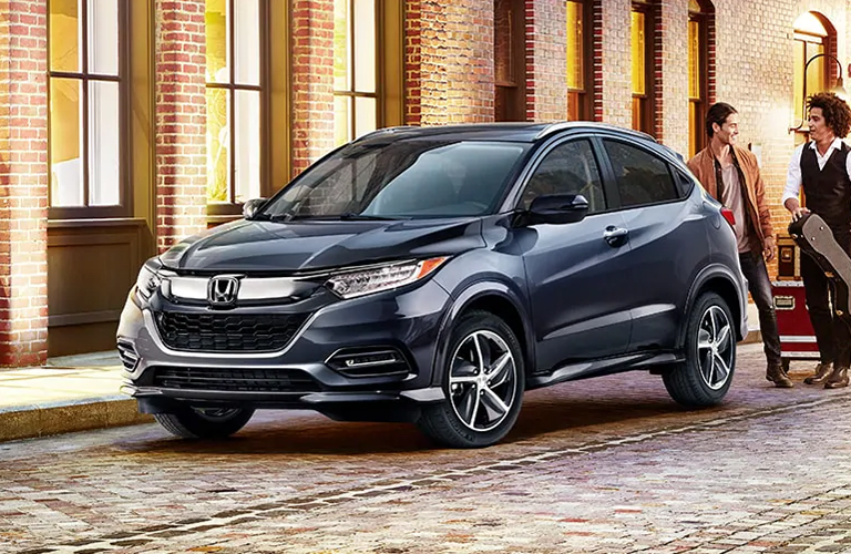 2020 Honda HR-V in gray