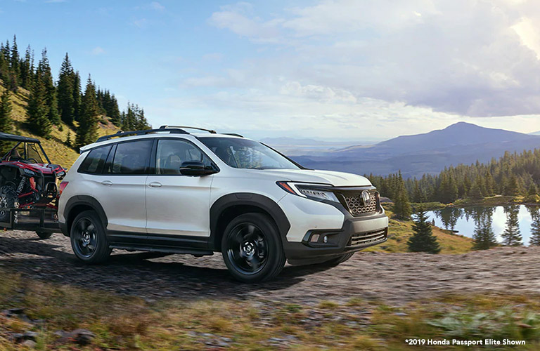 2020 Honda Passport in white