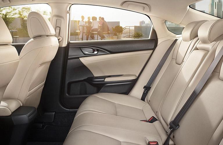 2021 Honda Insight rear seating