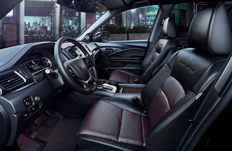 2021 Honda Pilot front seating