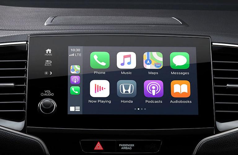 2021 Honda Pilot touch screen display