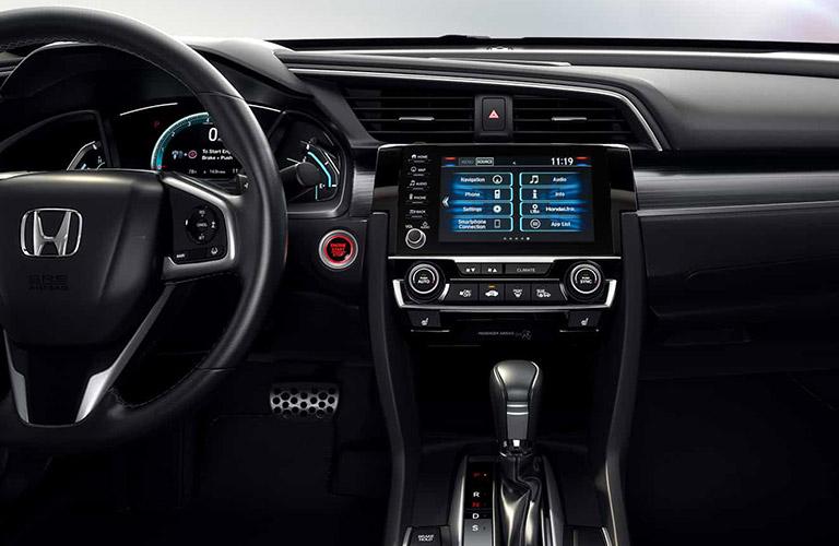 2021 Honda Civic sedan dashboard