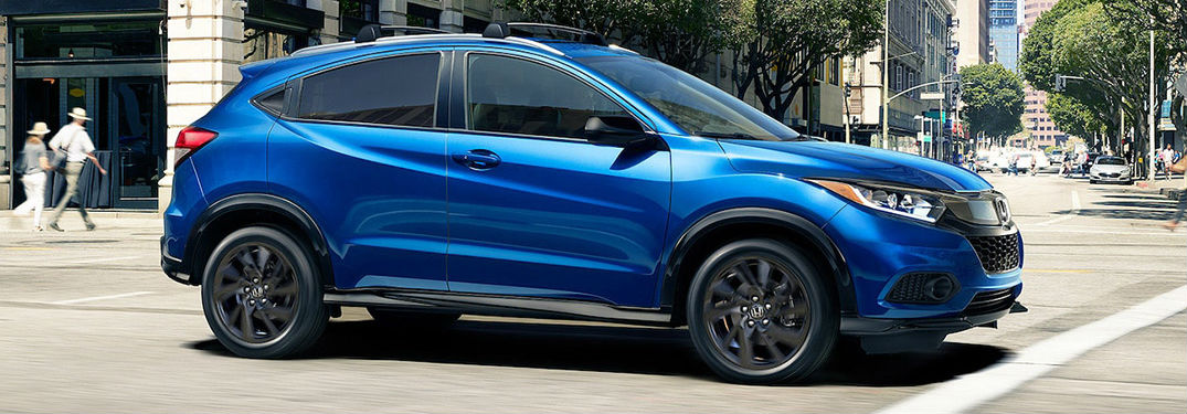 2021 Honda HR-V in blue