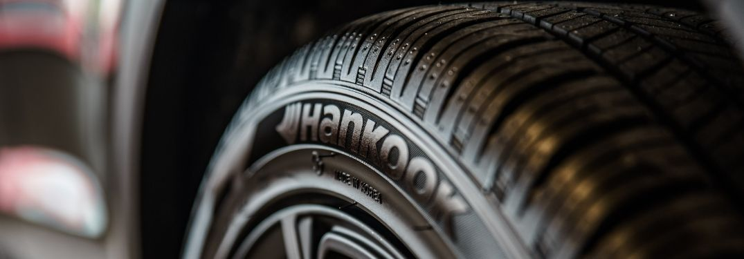 Close Up of Hankook Tire