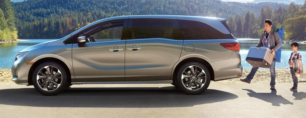 How connected will I be behind the wheel of the 2021 Honda Odyssey?